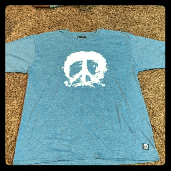 Gnarly Other - Gnarly peace sign tee